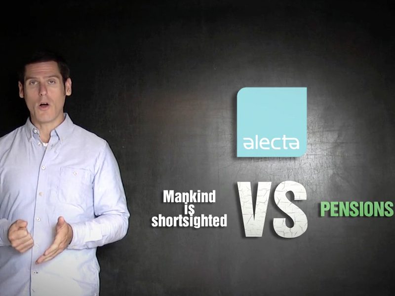 Alecta: 'Mankind is shortsighted'