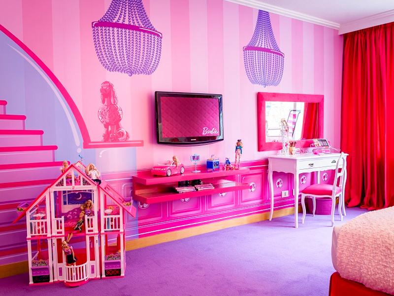 Inspiration: Hilton Buenos Aires, Barbie Room
