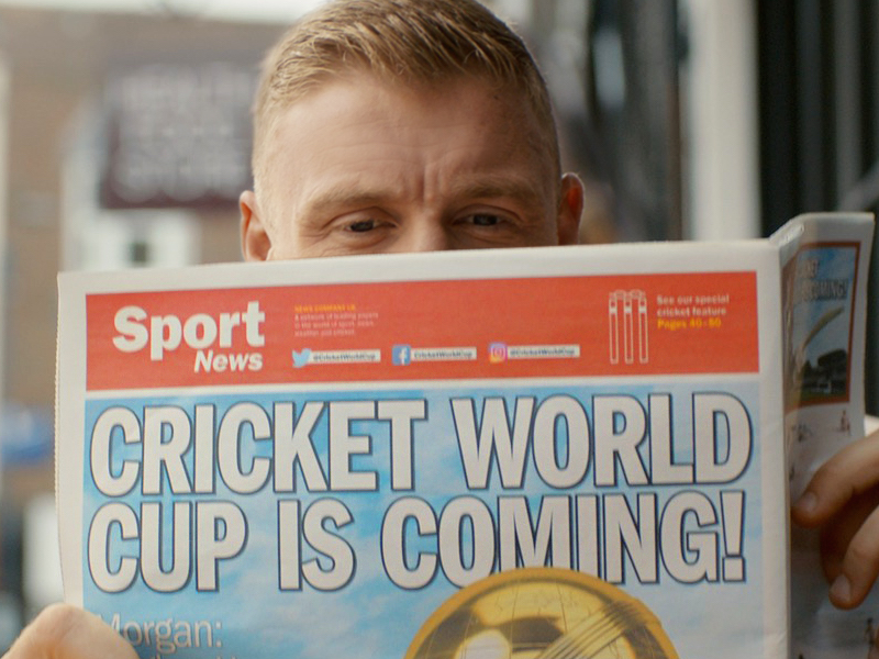 Ogilvy And Threepipe Join ICC Cricket World Cup Team