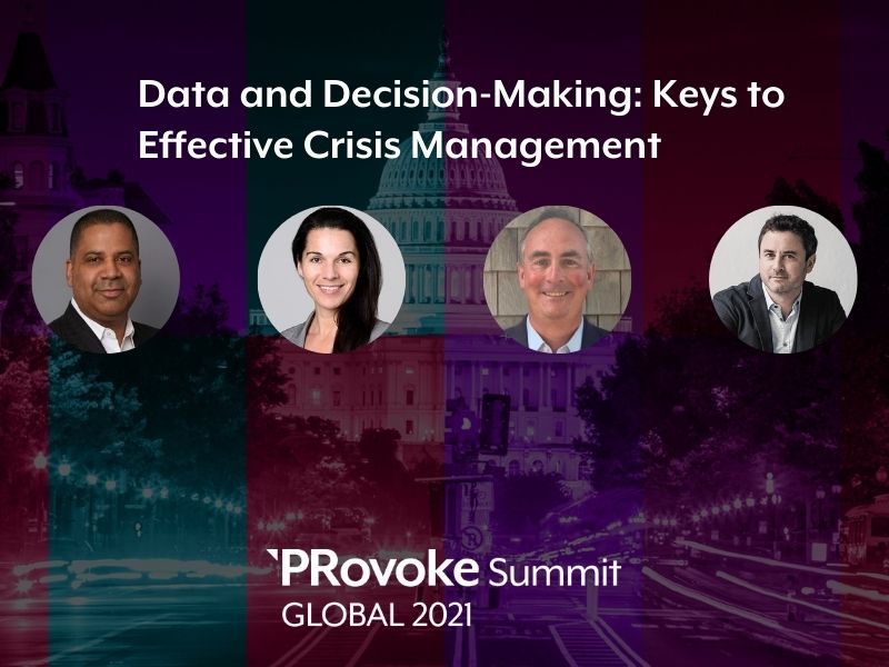 PRovokeGlobal: Data Can Keep You Calm In A Crisis