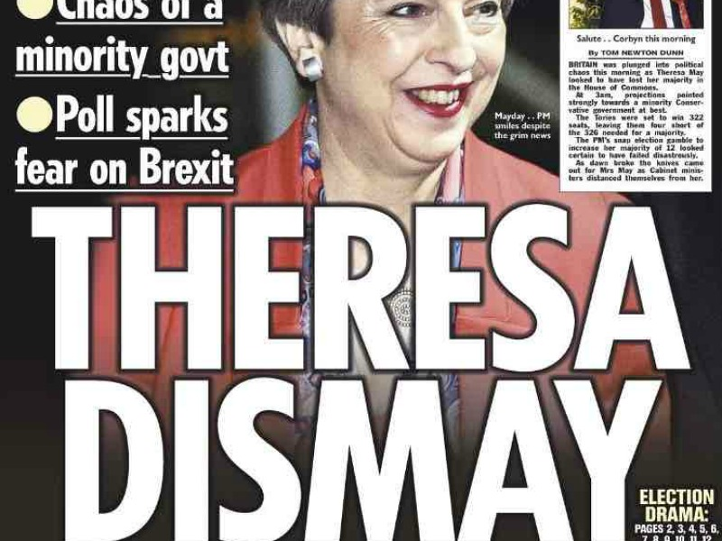 """Theresa May: """"What We've Got Here Is A Failure To Communicate"""""""
