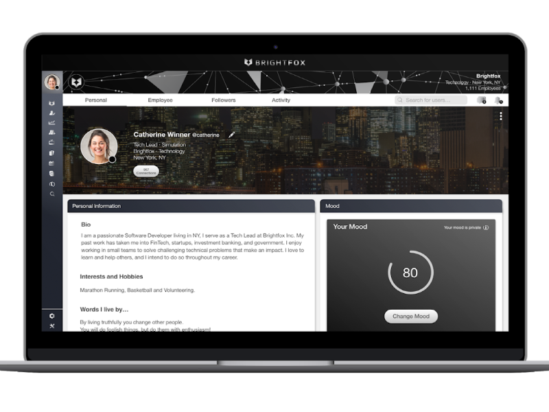 Diffusion Named AOR For Talent Experience Platform Brightfox