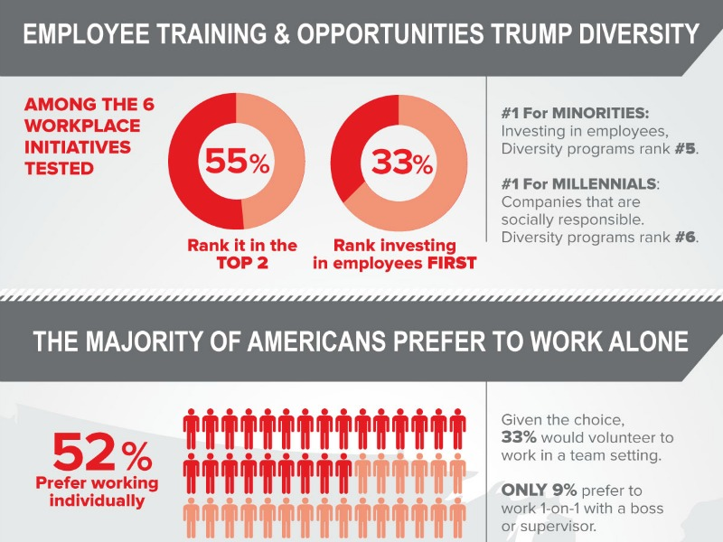 Among Employees—Even Minorities—Training Trumps Diversity Initiatives