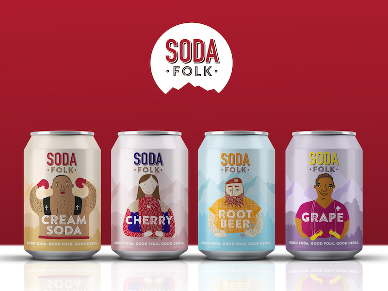Don't Cry Wolf Wins Retainer for Craft Soft Drinks Brand