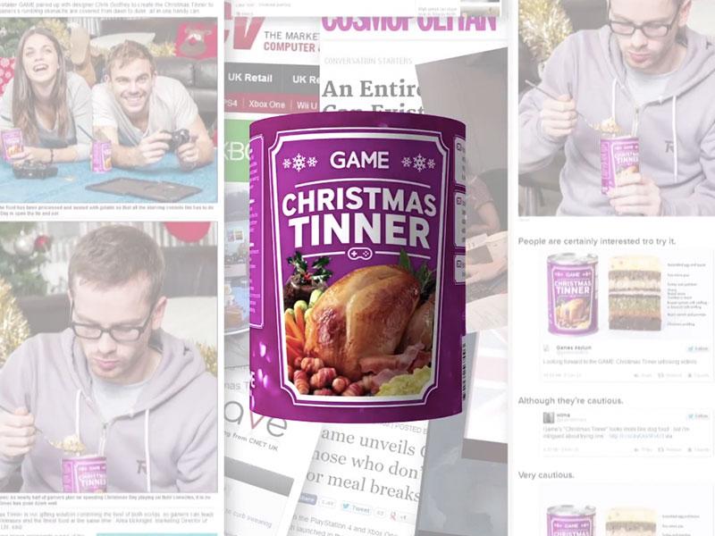 GAME's Christmas Tinner