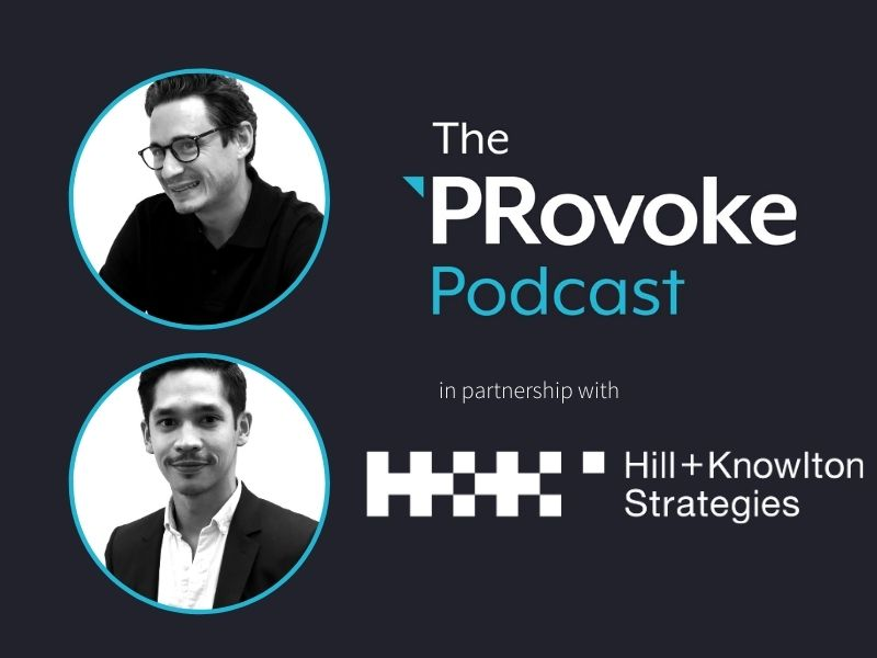Partner Series Podcast: The Rise Of Audio Comms with H+K Strategies