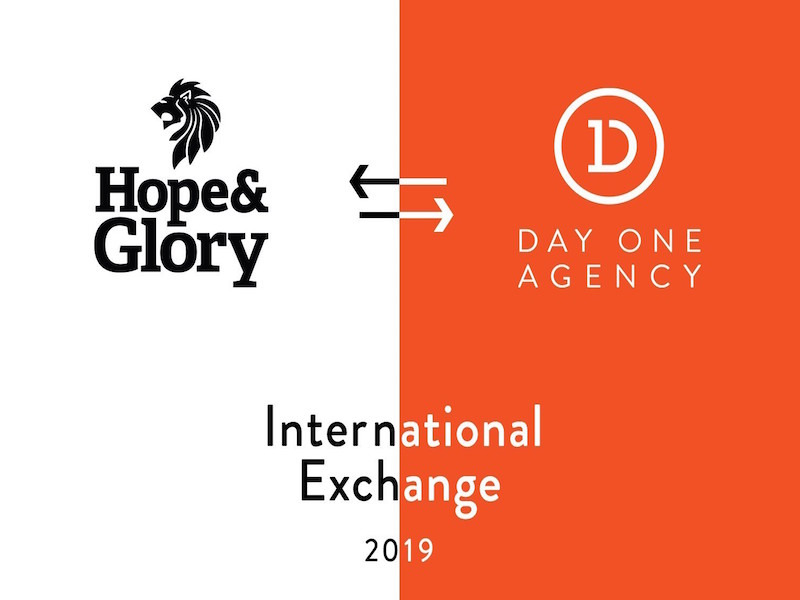 Hope&Glory & Day One Create International Exchange Scheme