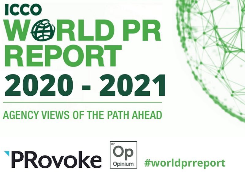 World PR Report Survey Opens For Agency Leaders' Views