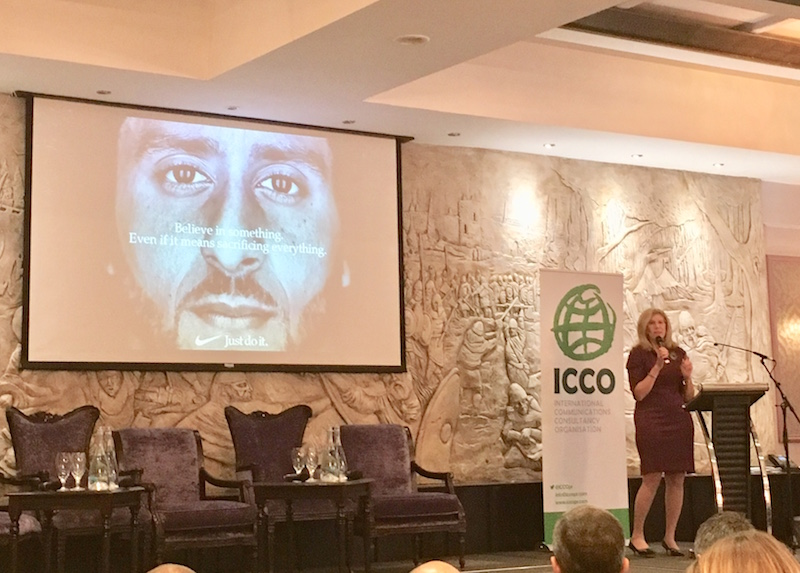 ICCO Summit: 'Agencies Must Expand Swim Lanes' Says Ketchum's Barri Rafferty