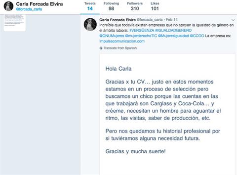Coca-Cola And Carglass Drop Spanish Agency After Rejection Letter Goes Viral