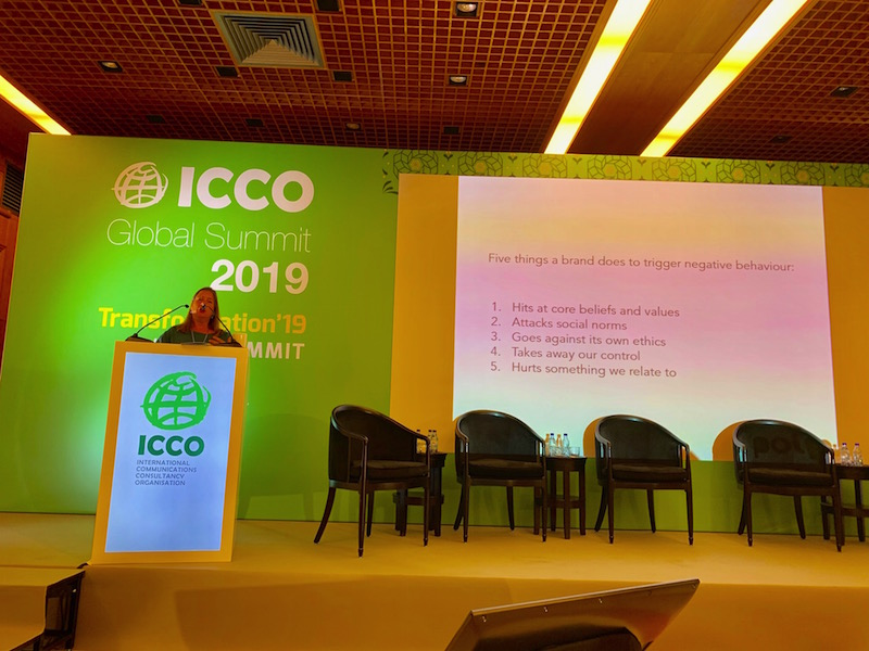 "ICCO Summit: ""Understanding How People Behave Is Key To Crisis Management"""