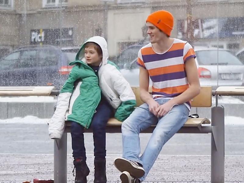 Inspiration: Little Boy Freezing