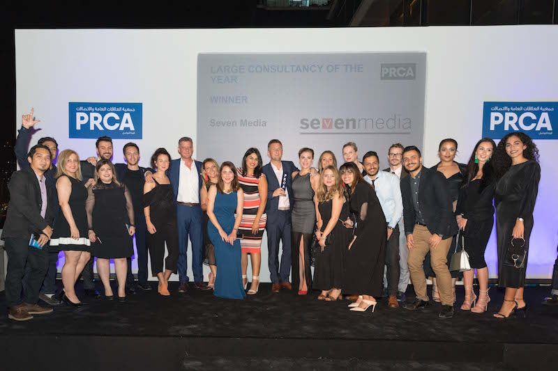 Seven Media And Brazen Win At PRCA MENA Awards