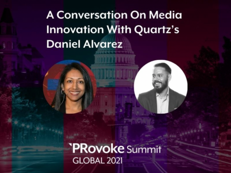 PRovokeGlobal: Quartz's Daniel Alvarez On Media Innovation