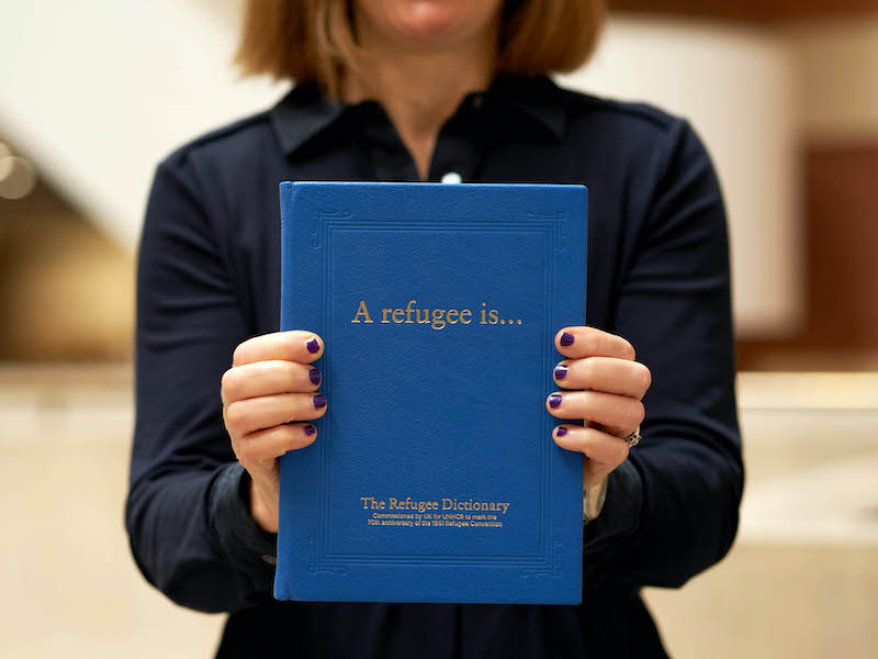 UN Refugee Agency Charity Hires Shook For Anniversary Support
