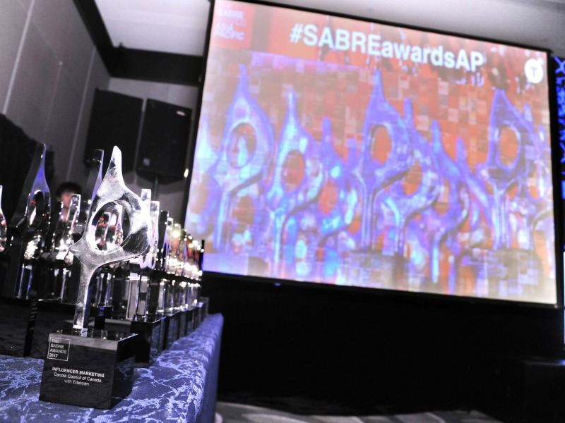 2018 Asia-Pacific SABRE Awards Now Open For Entries