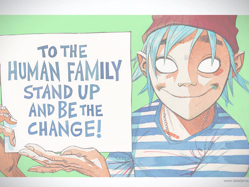 Stand Up and be the Change