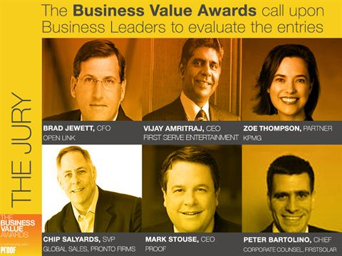 Business Value Awards Deadline Extended To January 11