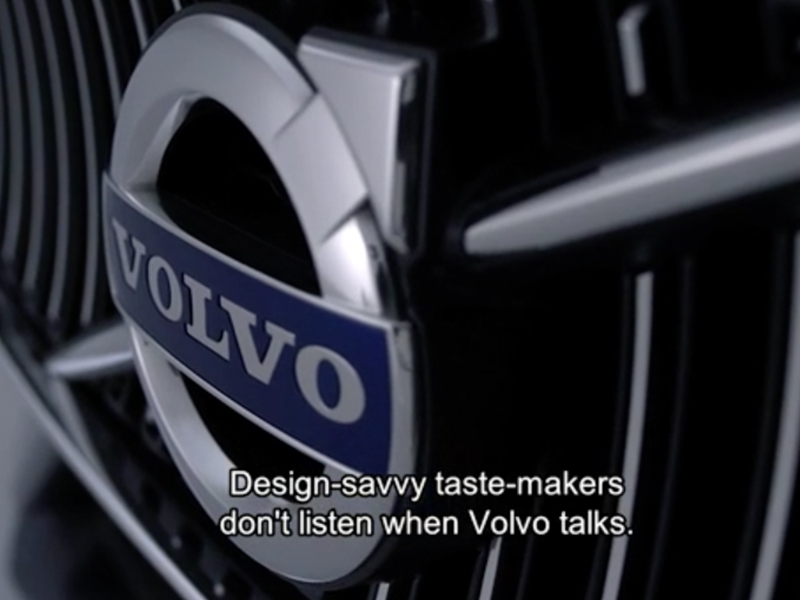 Volvo's Unbranded Launch