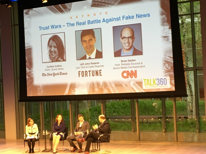 News Pros Want Media Literacy Campaign To Combat 'War On Truth'