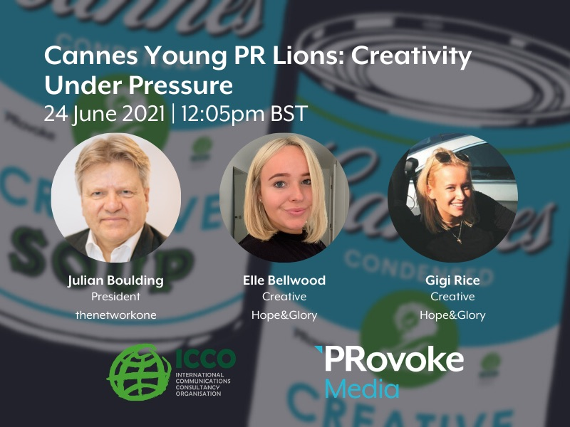 Cannes Condensed: Young PR Lions – Creativity Under Pressure
