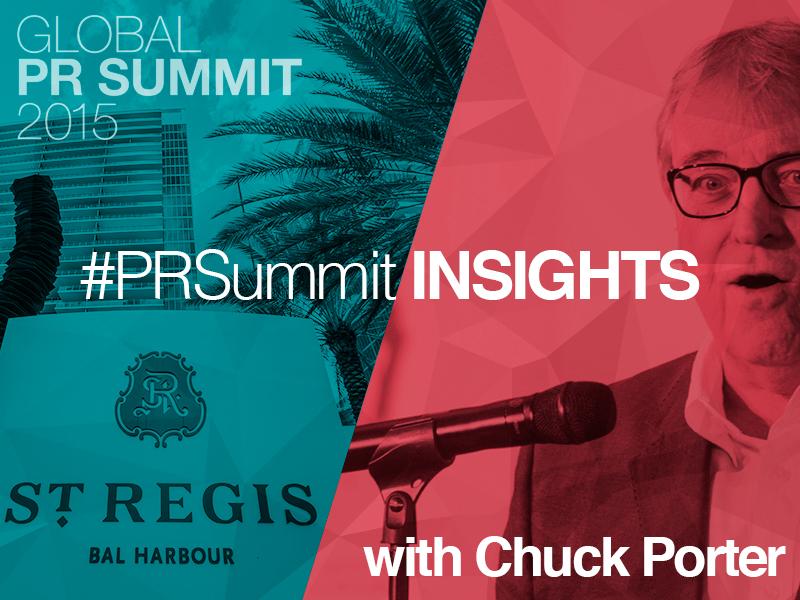 PRSummit: Chuck Porter On Taking Creative Risks