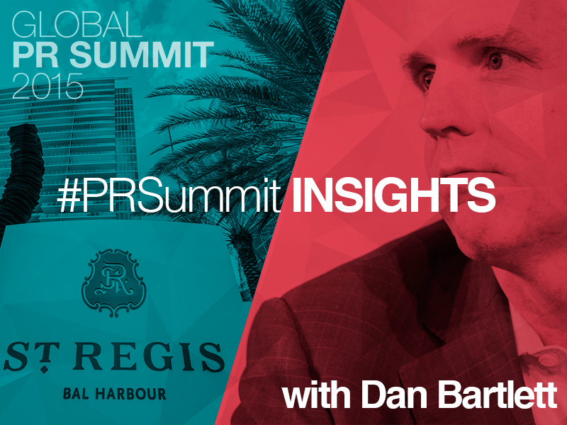 PRSummit: Walmart's Dan Bartlett On The 2016 Election