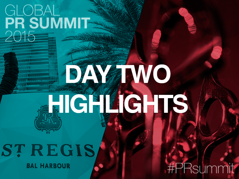 PRSummit: Day Two & Global SABRE Awards Highlights