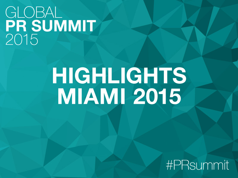 PRSummit: 2015 Video Highlight Reel