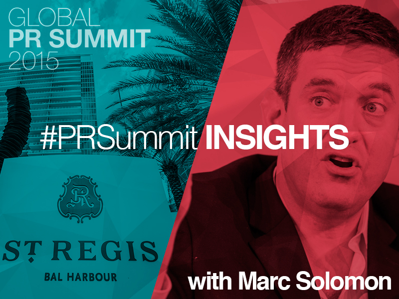 PRSummit: Freedom To Marry's Marc Solomon On How His Campaign Won
