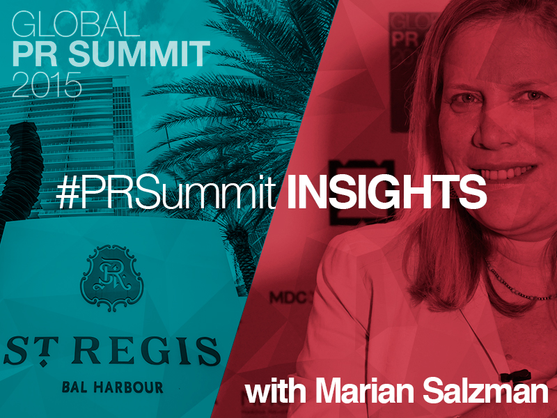 PRSummit: Marian Salzman On The Insight Imperative
