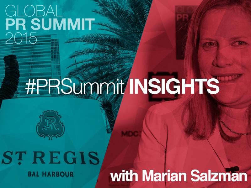PRSummit: Marian Salzman On The Insight Imperative