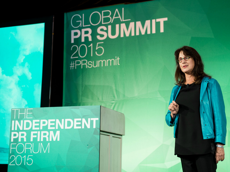 PRSummit: Melissa Waggener Zorkin On Prioritizing Purpose Over Profits