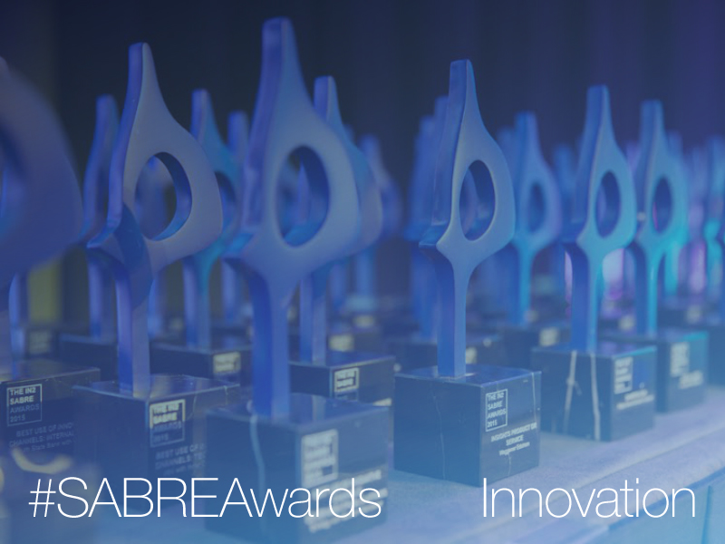 Innovation SABRE Awards North America Deadline Extended To November 5