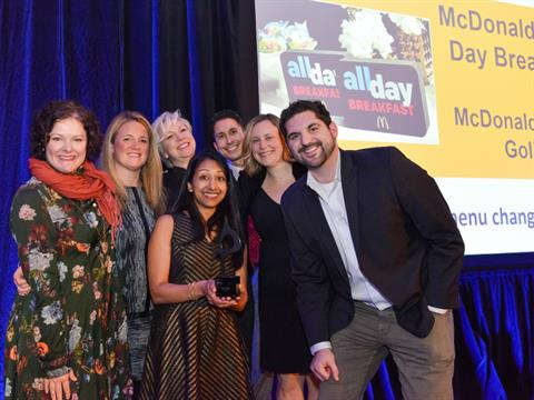 McDonald's 'All Day Breakfast' Takes Home Best In Show At In2 SABRE Awards