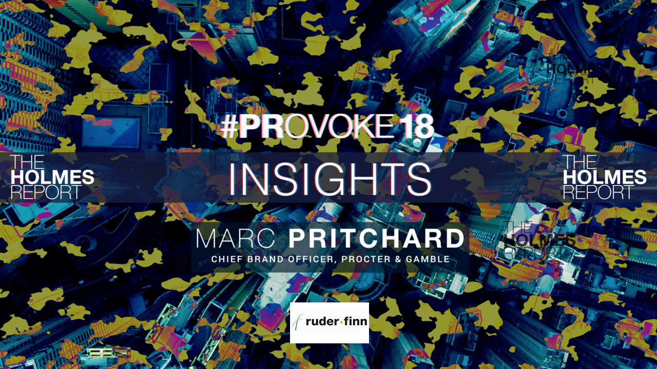 Video: Marc Pritchard On How PR Can Lead Amid Marketing Disruption