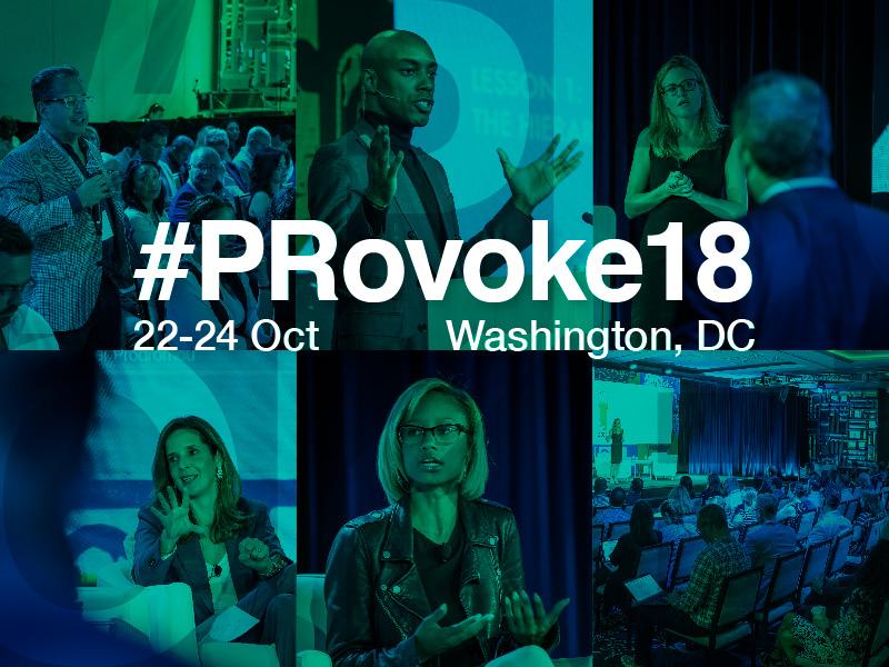 PRovoke18: Provisional Agenda Explores Critical PR Challenges