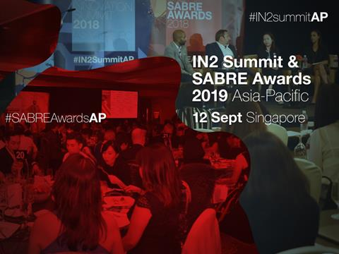 2019 Asia-Pacific IN2Summit & SABRE Awards Set For 12 September In Singapore