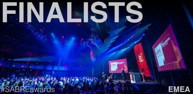 SABRE EMEA 2021 Finalists - PRovoke Media