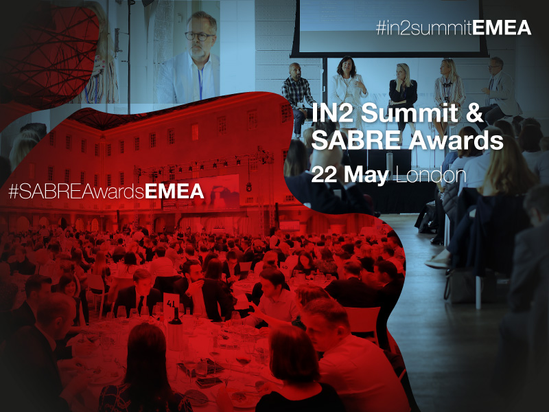2019 EMEA IN2Summit & SABRE Awards Set For London On 22 May
