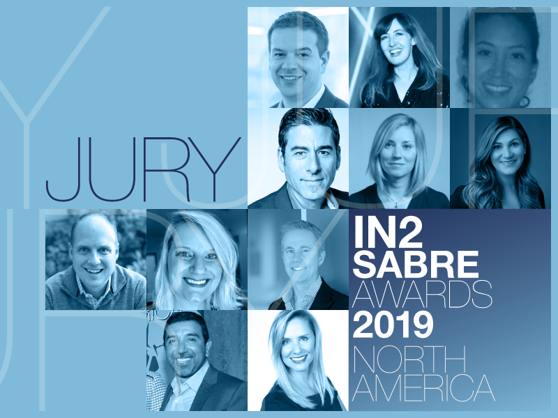 2019 Innovation SABRE Jury - North America Includes HP, PayPal, eBay, VCs