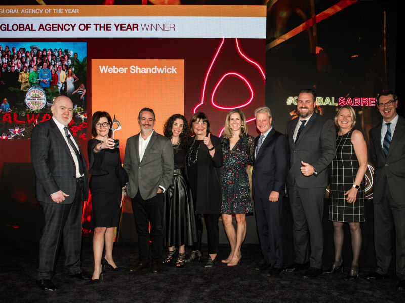 Weber Shandwick Named Global Agency Of The Year 2019