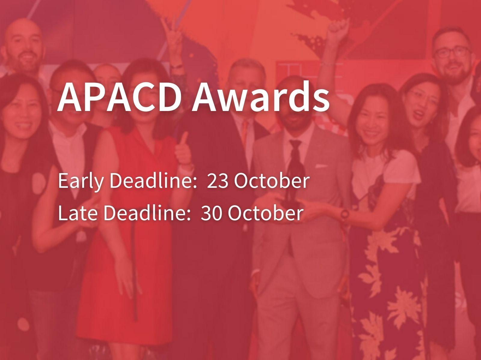 Enter Now: APACD Awards Relaunch To Recognise In-House Communications Excellence