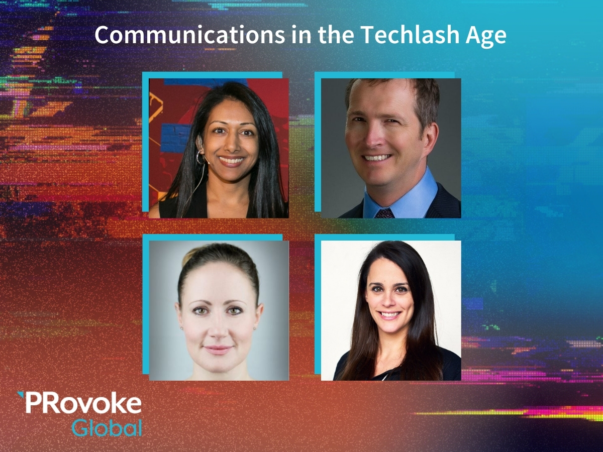 PRovokeGlobal Video: Communications In The Techlash Age