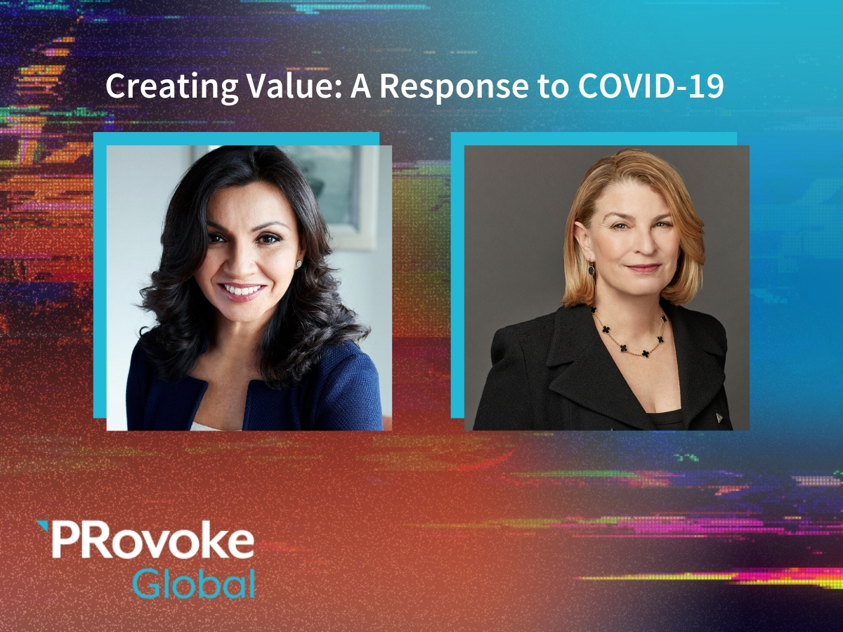 PRovokeGlobal Video: Creating Value — A Response to COVID 19 With Pfizer's Sally Susman