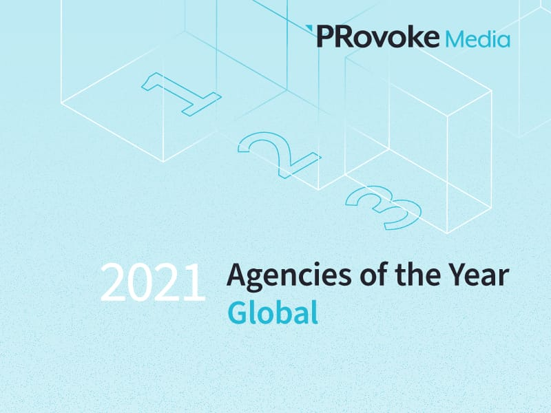 PRovoke Media Unveils 2021 Global Agency Of The Year Finalists