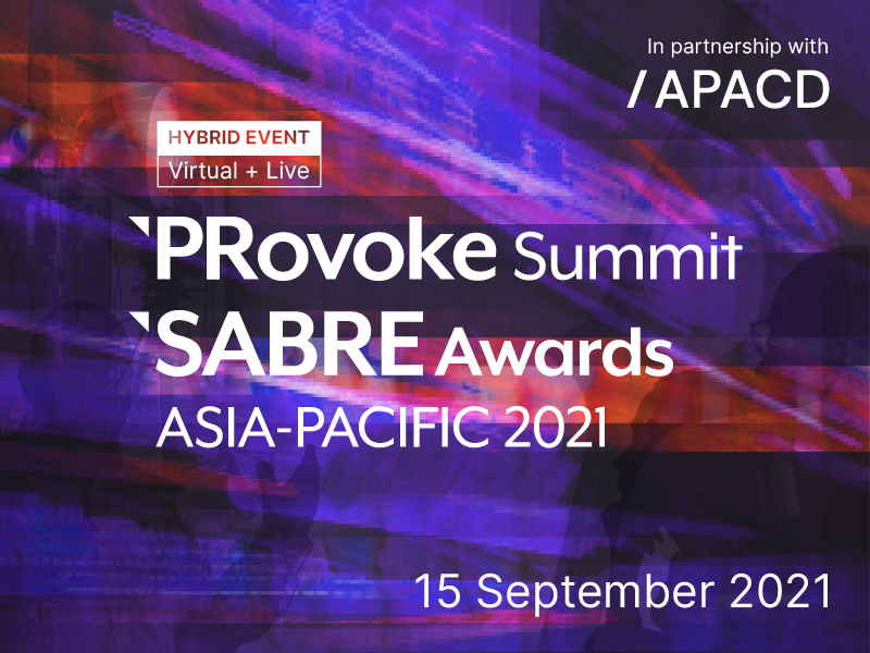 PRovoke Summit Asia-Pacific To Explore 2021 'Reset'