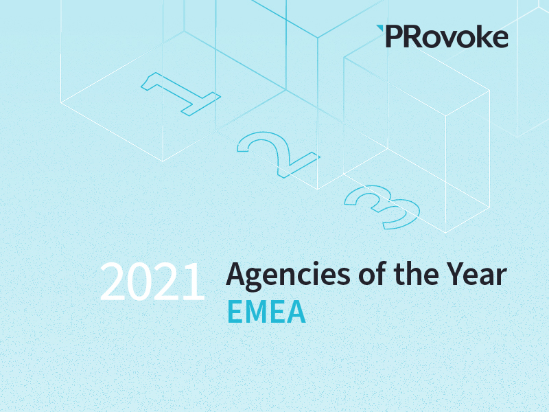 PRovoke Unveils 2021 EMEA Consultancies Of The Year Finalists