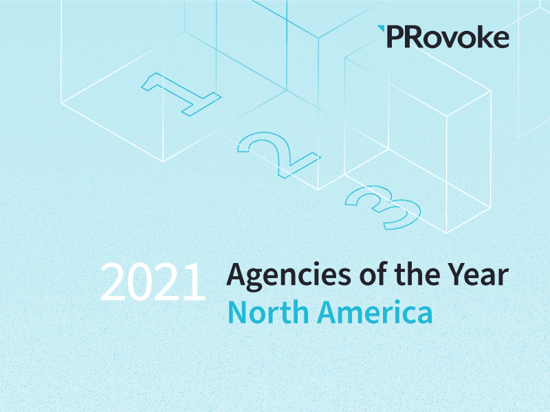 PRovoke Unveils 2021 North American Agencies Of The Year Finalists