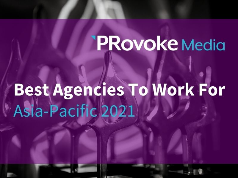 Best Agencies to Work For In Asia-Pacific — 2021 Rankings Revealed